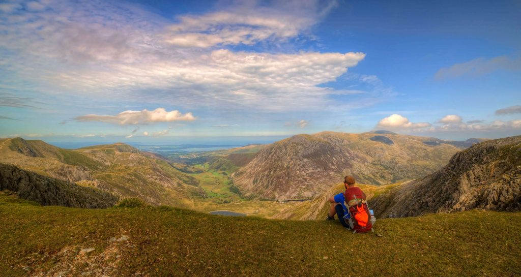 Guided walking holiday hiking in North Wales