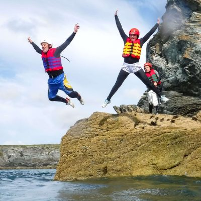 Coasteering as an incentive travel company activity