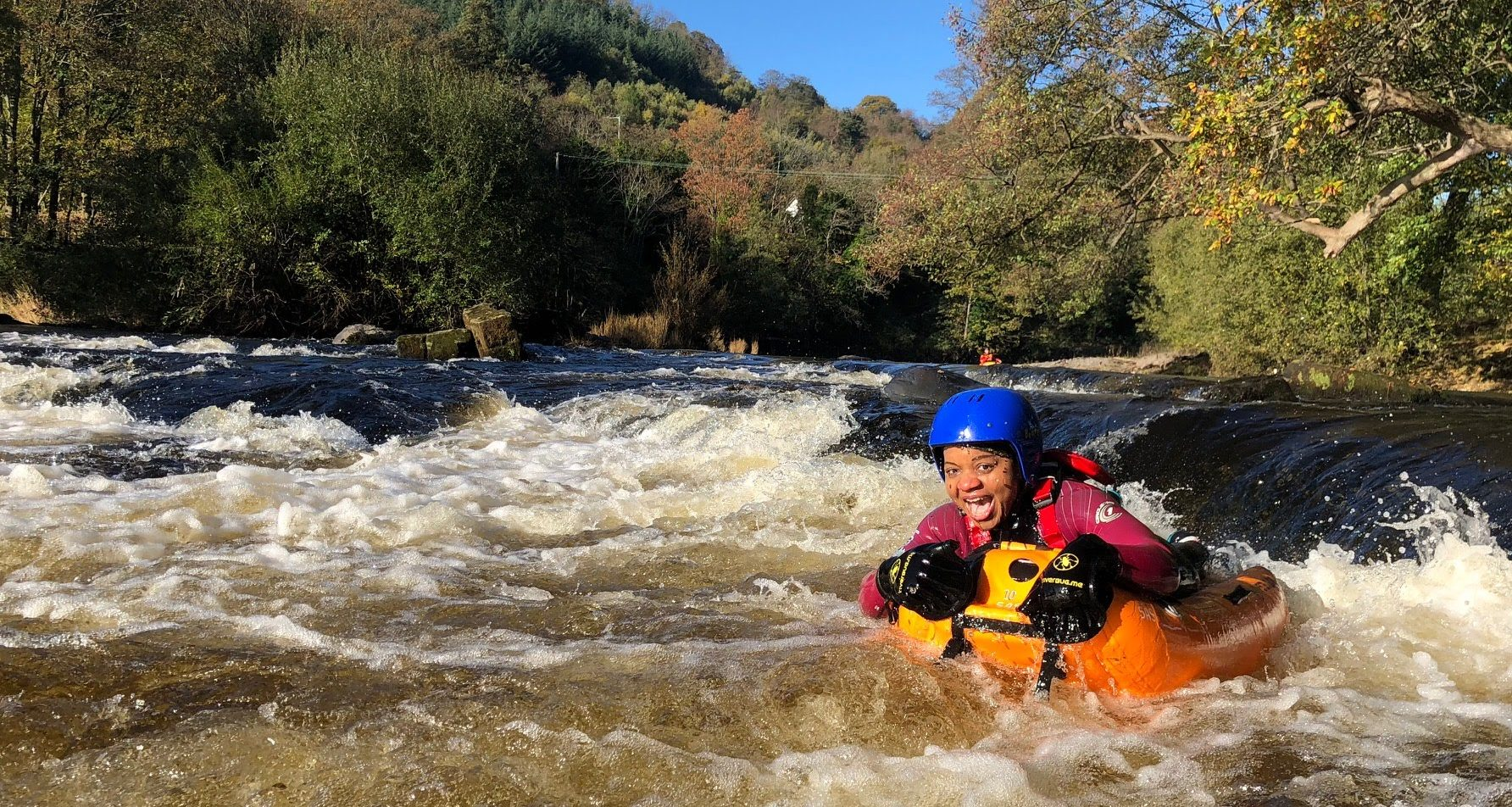 Riverbugging on a 36 hour micro adventure holiday in North Wales